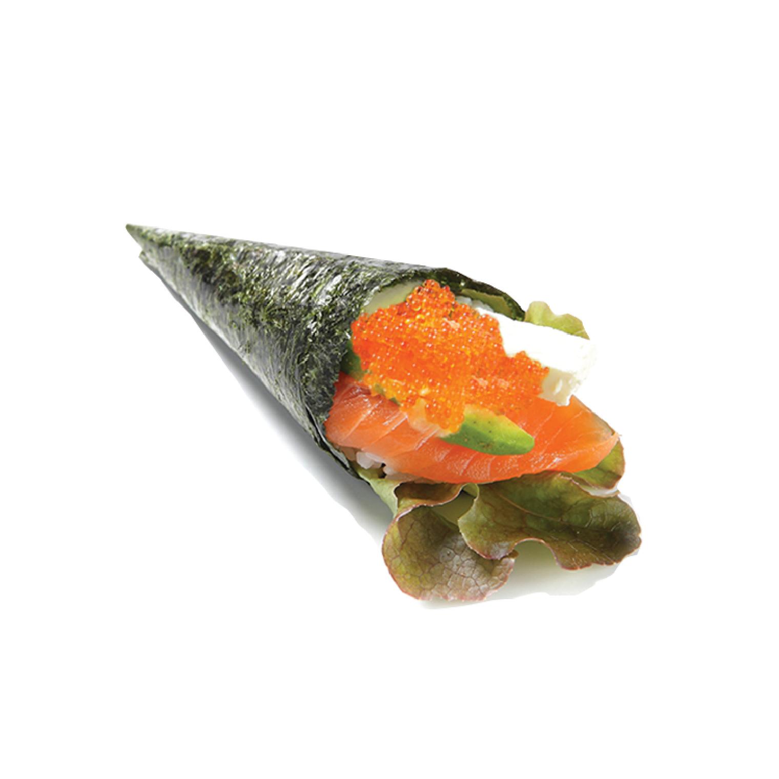 salmon cream maki